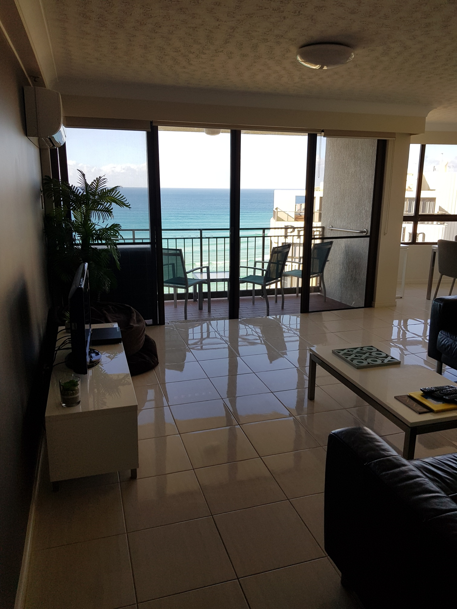 Royal Palm Resort Accommodation Living Area Ocean View