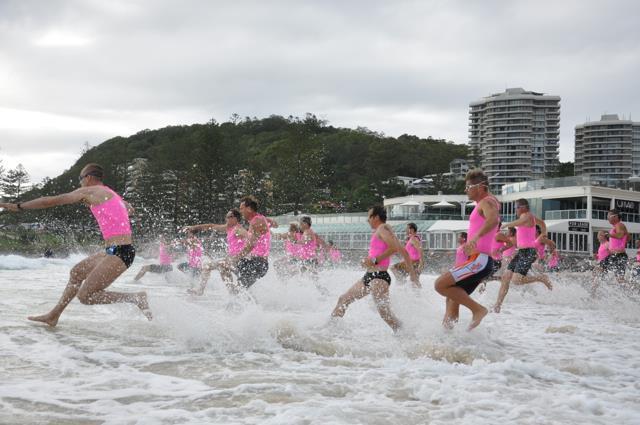 Burleigh Swim Run