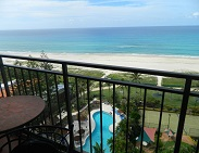 Royal Palm Resort Balcony Pool and Ocean View