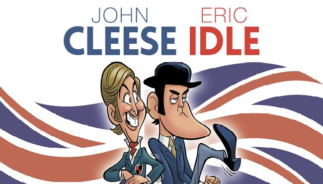 Eric idle john cleese