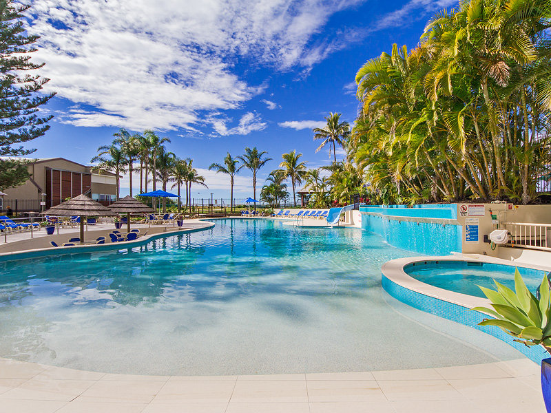 Royal Palm Resort Pool Beachfront