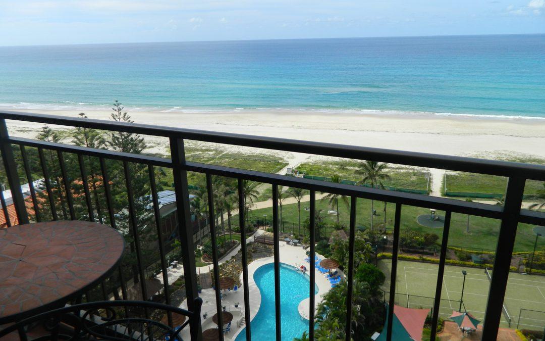 Royal Palm Resort Accommodation Balcony Pool Beach View