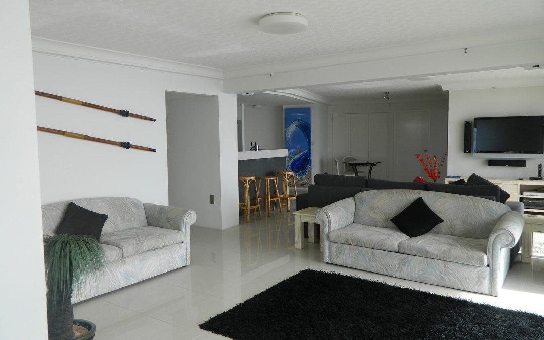 Royal Palm Resort Accommodation Living Area