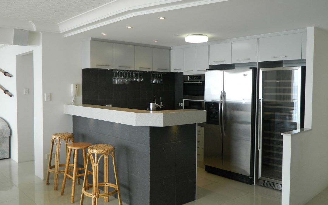 Royal Palm Resort Accommodation Kitchen