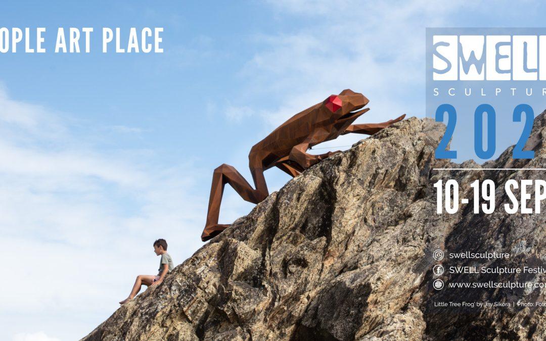 SWELL Sculpture Festival 2021